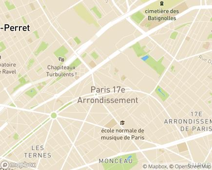 Localisation Paramedica Association - 75017 - Paris 17
