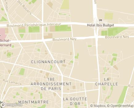 Localisation Centre Médico-Psychologique pour Enfants et Adolescents - 75018 - Paris 18