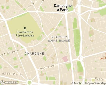 Localisation Alternatives Plein Ciel - 75020 - Paris 20