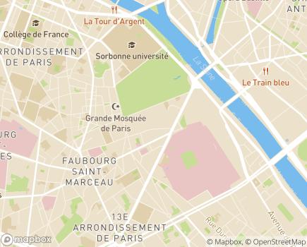 Localisation EHPAD Jardin des Plantes - 75005 - Paris 05