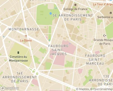 Localisation FOSAD Aide Services et Soins à Domicile - 75005 - Paris 05