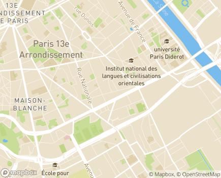 Localisation URIOPSS Ile-de-France - 75013 - Paris 13
