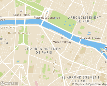 Localisation Société Philanthropique - 75007 - Paris 07