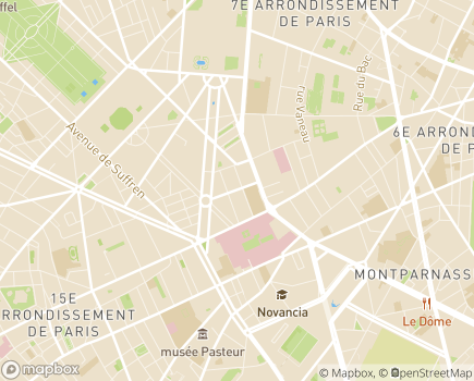 Localisation Centre de Formation et de Rééducation Professionnelle de l'Association Valentin Haüy - 75343 - Paris 07