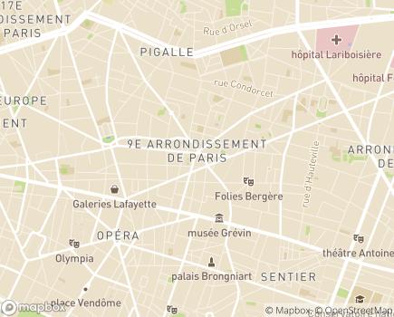 Localisation ADIAM - 75009 - Paris 09