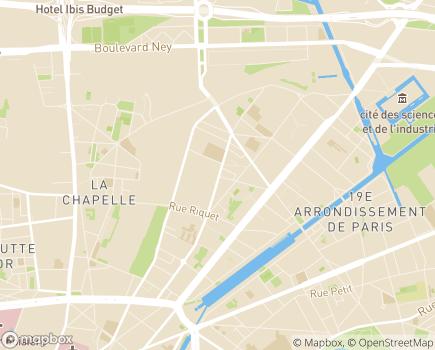 Localisation Le Pont de Flandre - Foyer d'Accueil Médicalisé et Foyer d'hébergement - 75019 - Paris 19