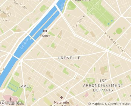 Localisation ACSP - Association Création Services Paris - 75015 - Paris 15