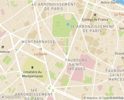 Localisation L'École à l'Hôpital Marie-Louise Imbert - 75006 - Paris 06