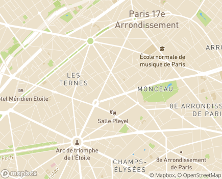 Localisation OPEJ - 75017 - Paris 17