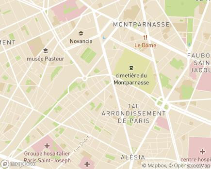 Localisation Foyer d'Accueil Médicalisé Résidence du Maine - APF - 75014 - Paris 14
