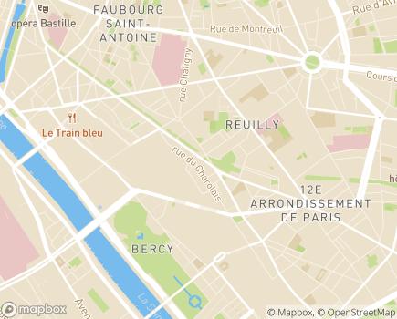 Localisation Korian Les Arcades - 75012 - Paris 12