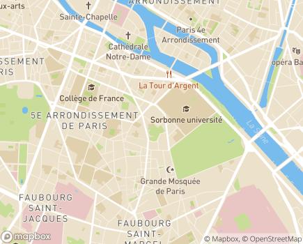 Localisation Institut Paul Sivadon Centre Psycho-Médical et Social - 75005 - Paris 05