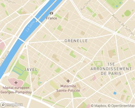 Localisation Pro Sitting - 75015 - Paris 15