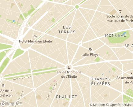Localisation M & D - 75017 - Paris 17