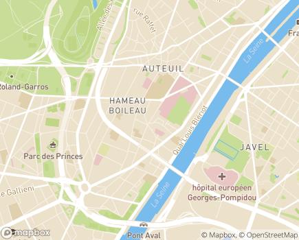 Localisation DomusVi Domicile - 75016 - Paris 16