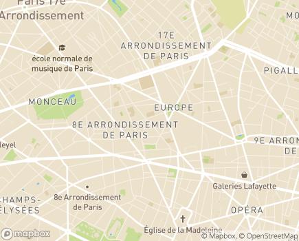 Localisation DomusVi Domicile - 75008 - Paris 08