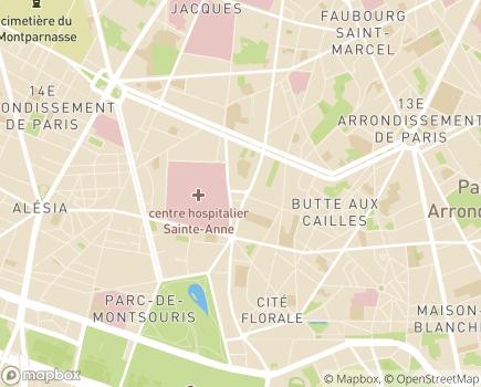 Localisation Domidom Services - 75013 - Paris 13