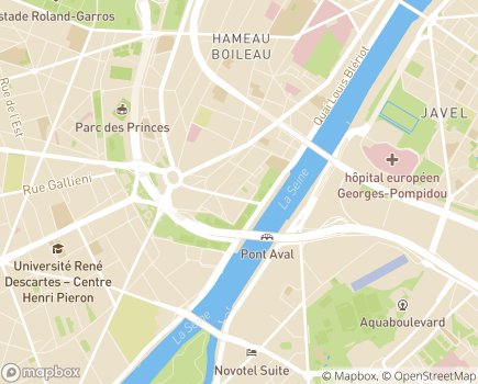 Localisation Association Relais Famille - 75016 - Paris 16
