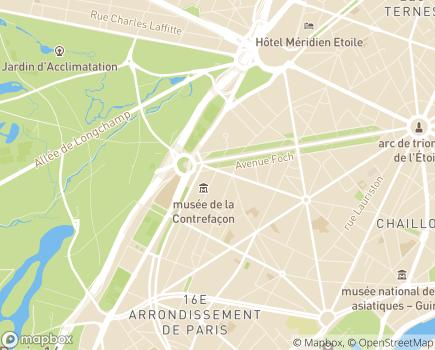 Localisation La Vie à Domicile, service polyvalent d'aide et de soins à domicile (SPASAD) - 75116 - Paris 16
