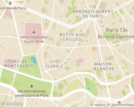 Localisation Maison des Aînés et des Aidants Paris Sud - 75013 - Paris 13