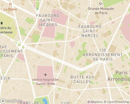 Localisation Résidence Sociale Gilbert Mourre - 75013 - Paris 13