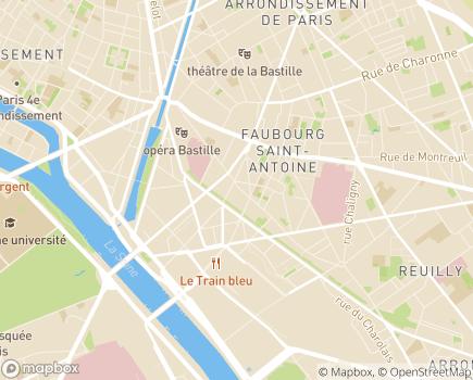 Localisation ADHAP - APVM - 75012 - Paris 12