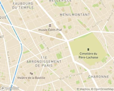 Localisation Proxy-Aide - 75011 - Paris 11