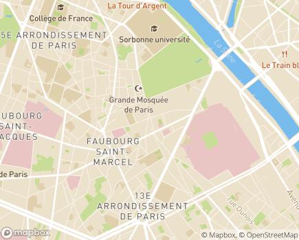 Localisation Dom'Soleil - 75005 - Paris 05