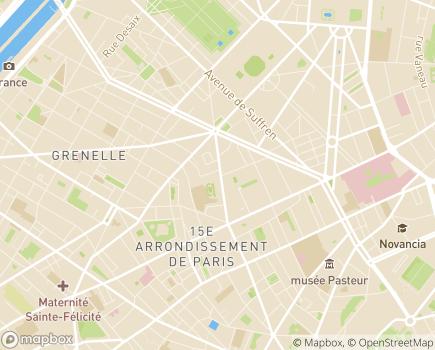 Localisation Adoma Direction territoriale Paris - 75015 - Paris 15