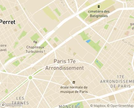 Localisation Foyer d'Hébergement Retraite - 75017 - Paris 17