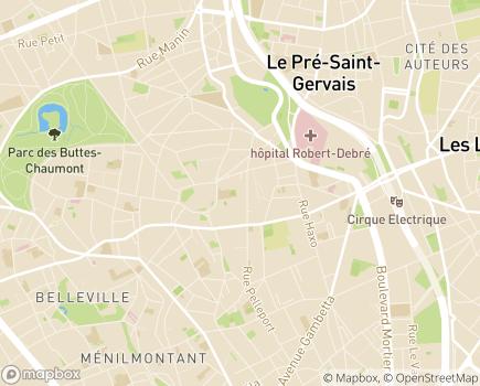Localisation SAVS Fondation Maison des Champs - 75019 - Paris 19