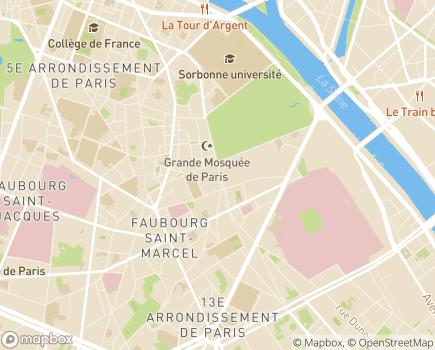 Localisation Résidence Appartements St-Hilaire - 75005 - Paris 05