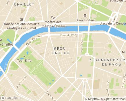 Localisation Résidence Services Leprince - 75007 - Paris 07