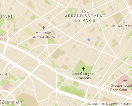 Localisation Résidence Services Vaugelas - 75015 - Paris 15