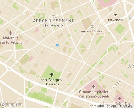 Localisation Résidence Services Les Jardins d'Arcadie - 75015 - Paris 15