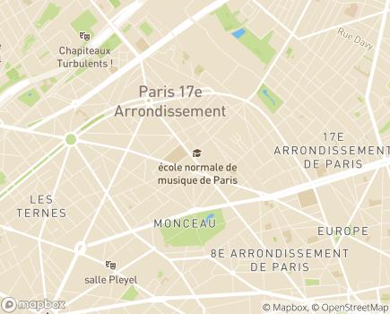 Localisation Résidence avec Services Les Héspérides Villa Malesherbes - 75017 - Paris 17