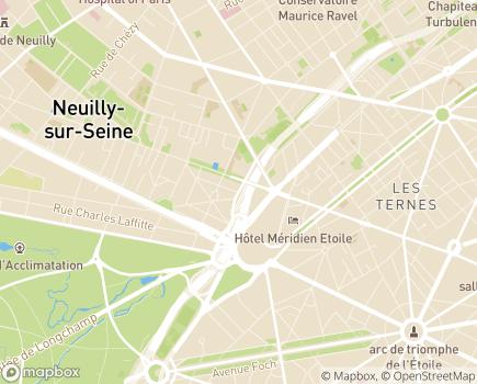 Localisation Résidence avec Services Les Héspérides des Ternes - 75017 - Paris 17