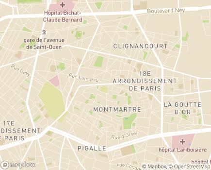 Localisation Résidence Services Caulaincourt - 75018 - Paris 18