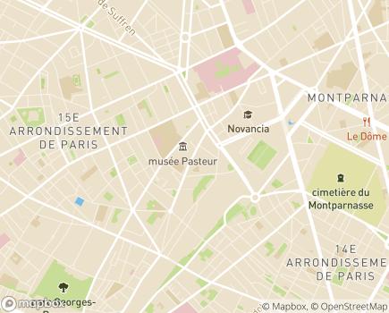 Localisation Foyer d'Adultes - 75015 - Paris 15