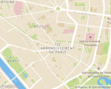 Localisation Résidence avec Services Les Hespérides Daumesnil - 75012 - Paris 12