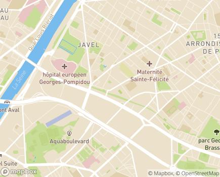 Localisation Service d'Orientation et d'Accompagnement Spécialisé d'Ile-de-France - 75015 - Paris 15