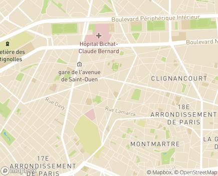 Localisation SSIAD Renforcé - 75018 - Paris 18