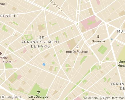 Localisation Notre Village - Soins Infirmiers à Domicile - 75015 - Paris 15
