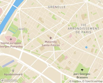 Localisation ADHAP Paris 15 – Adomicil - 75015 - Paris 15