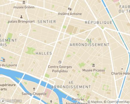 Localisation All Services - 75003 - Paris 03