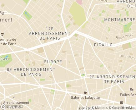 Localisation Amélis - 75009 - Paris 09
