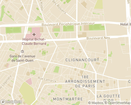 Localisation Avidom - 75018 - Paris 18