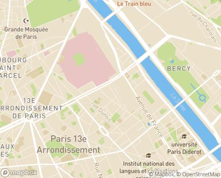 Localisation Emergence Insertion entreprise - 75013 - Paris 13