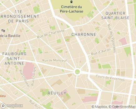 Localisation Côté Enfants - 75011 - Paris 11