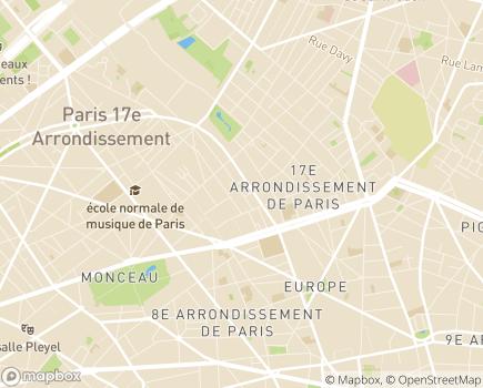 Localisation Zazzen - 75017 - Paris 17